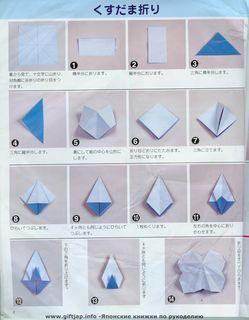 Origami Umbrella - How to make a paper umbrella easy instructions ... | 320x249